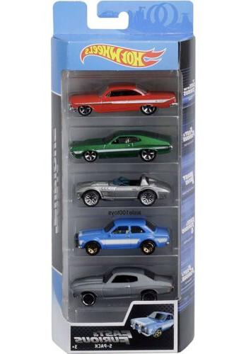 fast and furious 5 pack set movie