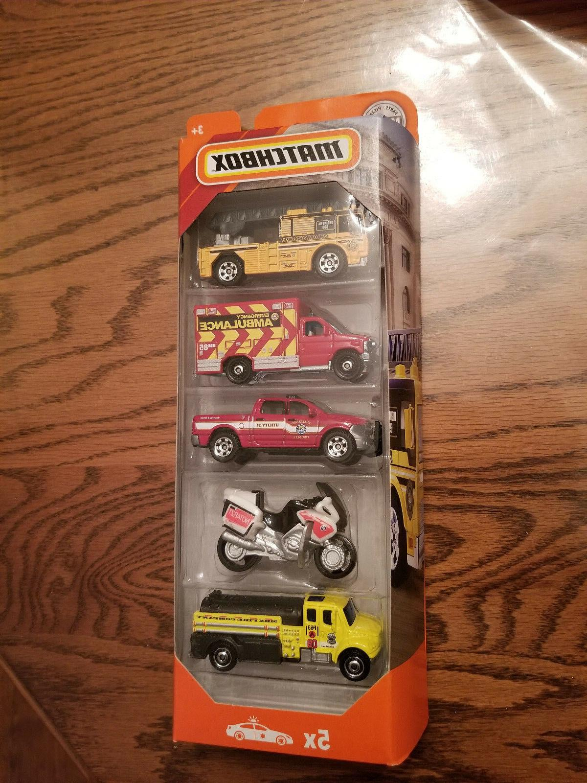 fire 5 pack ambulance rescue dodge ford