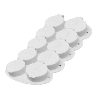 flip top contact lens cases white pack