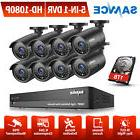 SANNCE Full 1080P HD Video 5IN1 8CH DVR Home Surveillance Ca