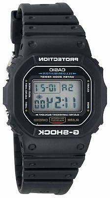 Casio G-Shock Men's Quartz Digital Black Resin Sport 47mm Wa