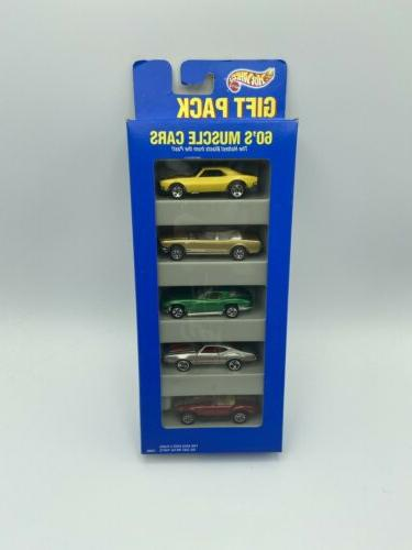 Hot Wheels Gift Pack 60's muscle cars
