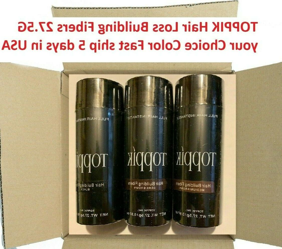 Toppik Hair Building 3 PACK SPECIAL 27.5 5 DELIVERY