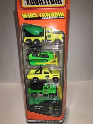 MATCHBOX Highway Crew 5 Pack Gift Set
