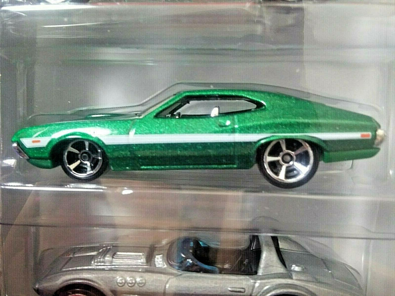 HOT WHEELS AND FURIOUS RACERS MINT BOX