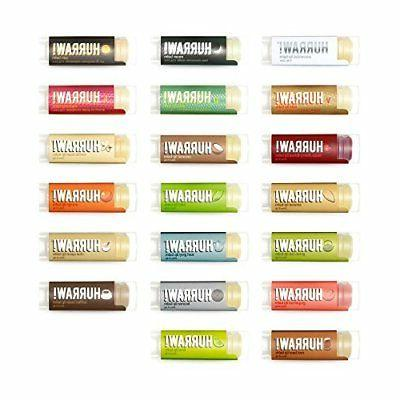 HURRAW! Lip Balms: 5 Pack – Buyers Choice, Pick Any 5 Cont