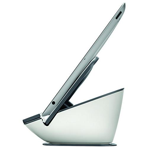 Fellowes I-Spire Series Suction/Tablet Stand, White/Gray
