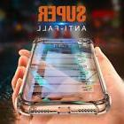 For iPhone 8 7 Plus X Phone Case Soft Silicone Clear Transpa