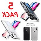 iPhone X 8 Plus Shockproof Ultra Thin Slim Clear Crystal Sof