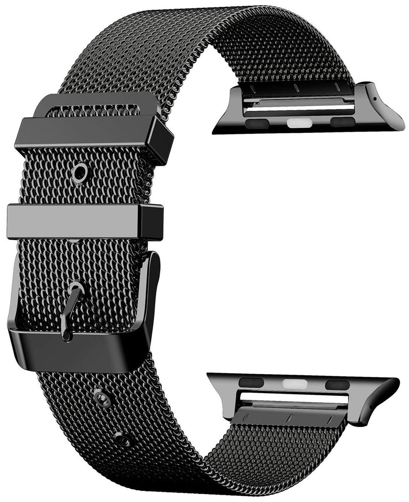 42mm iWatch Milanese Stainless Steel Bracelet Strap Band App