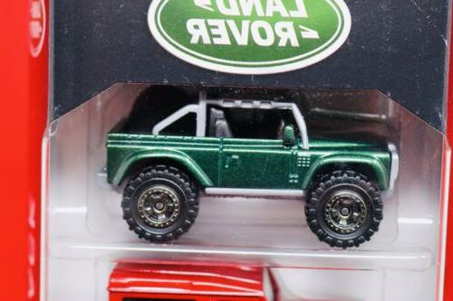 Matchbox Land Rover Pack SBX, Discovery, Freelander, Ninety