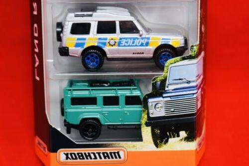 Matchbox 5 Pack Freelander,