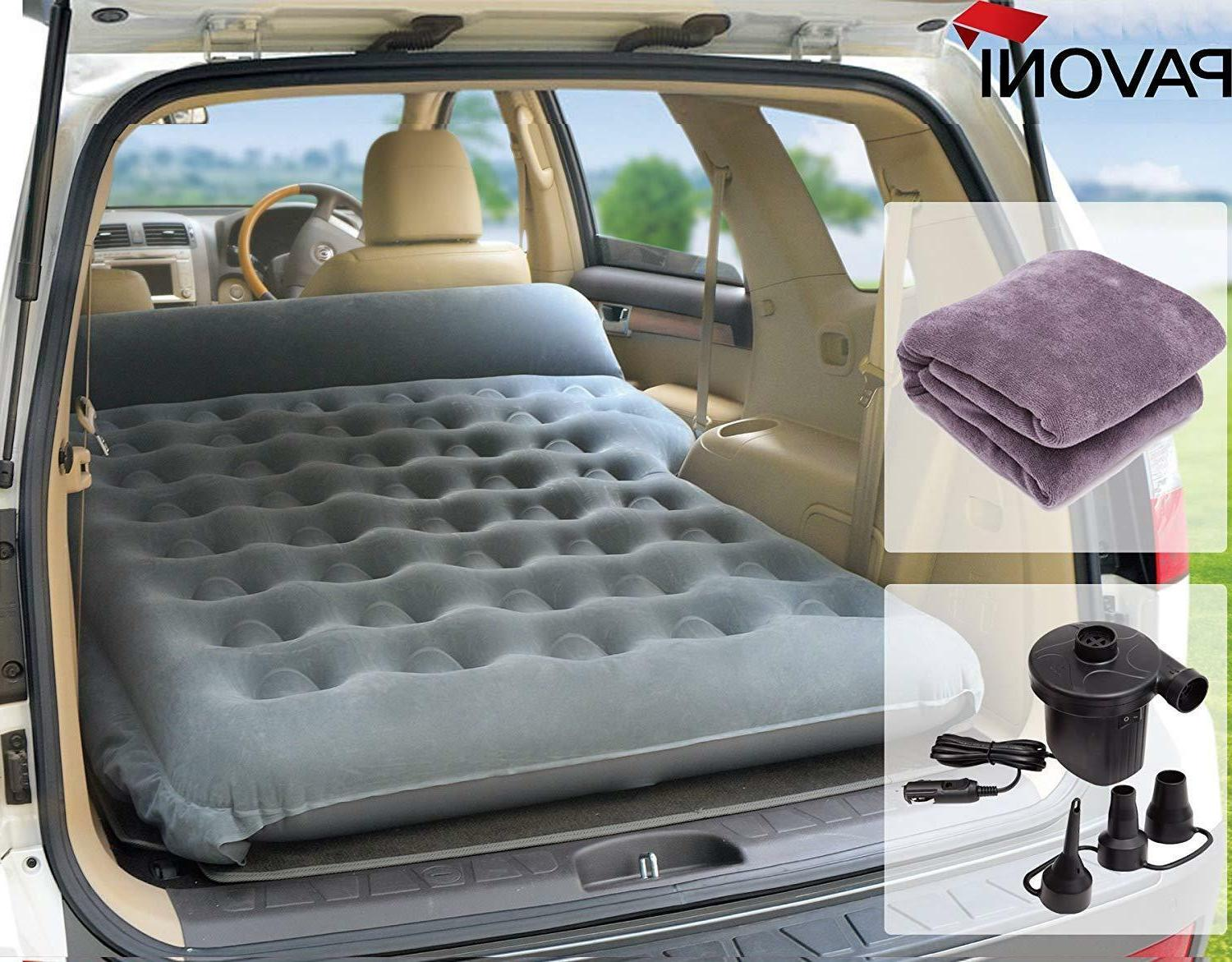 Mattress Air Bed Inflatable Travel Camping Heavy Duty Car SU