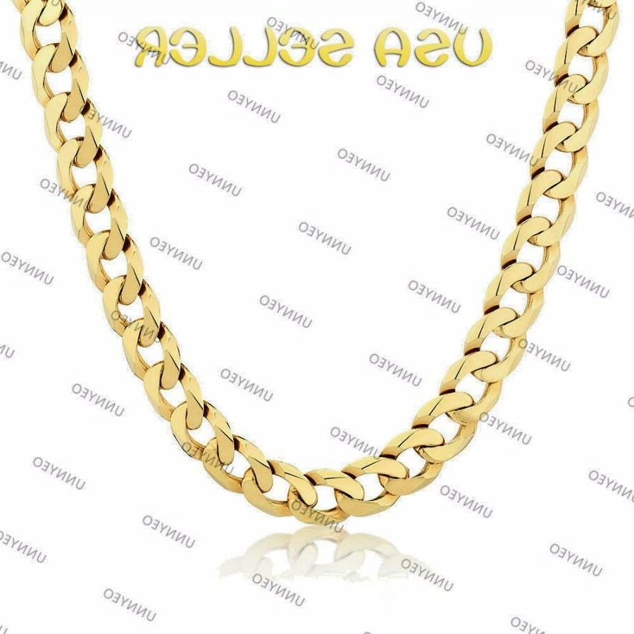 Men's Chain and Gold Plated 6mm-5