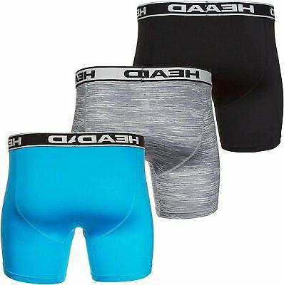 HEAD 3-PACK Polyester/Spandex