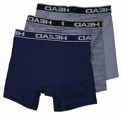 HEAD Performance 3-PACK Boxer Briefs Polyester/Spandex