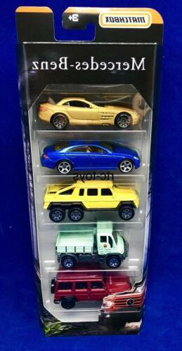 Matchbox Mercedes Pack CLS500,6x6,SLR 2019