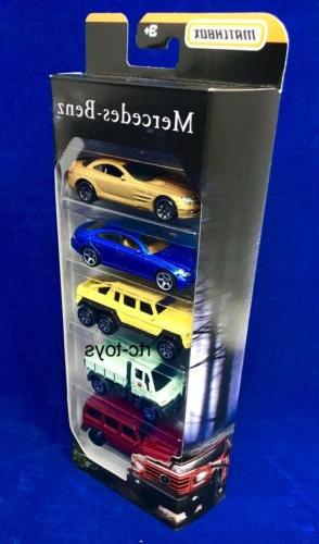 Matchbox Mercedes Pack CLS500,6x6,SLR