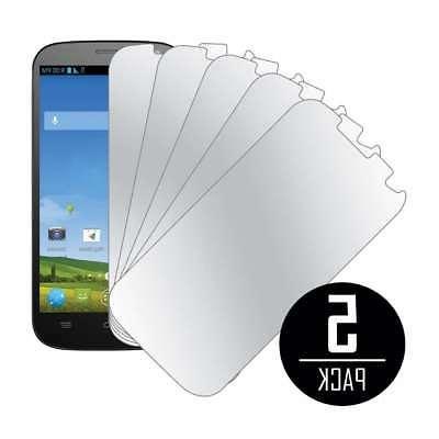 MPERO Collection 5 Pack of Mirror Screen Protector Covers fo