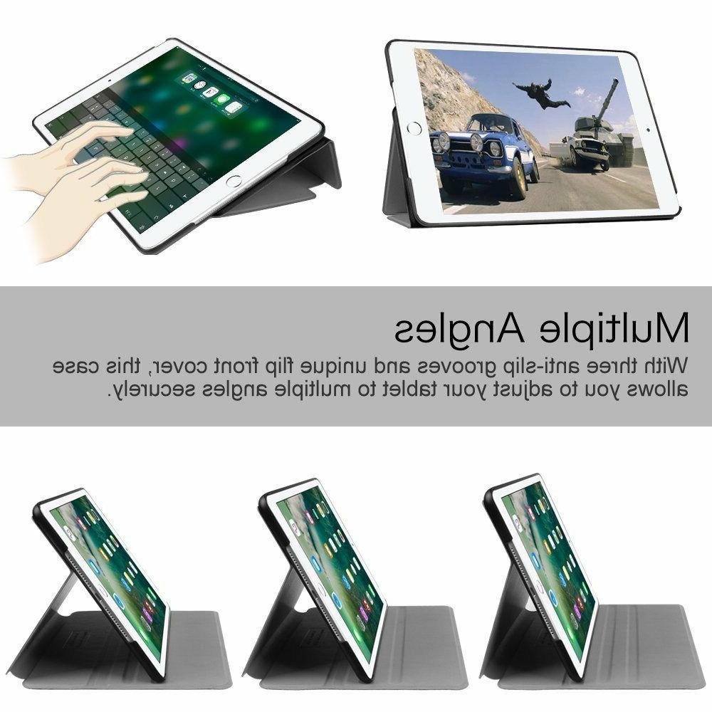 Multi-Angle View Folio Cover For iPad 9.7'', +