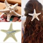 Natural Starfish Hair Clips Beach Bridal Sea Shell Mermaid B