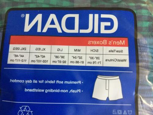 NEW Men's Pack Boxers Sz M