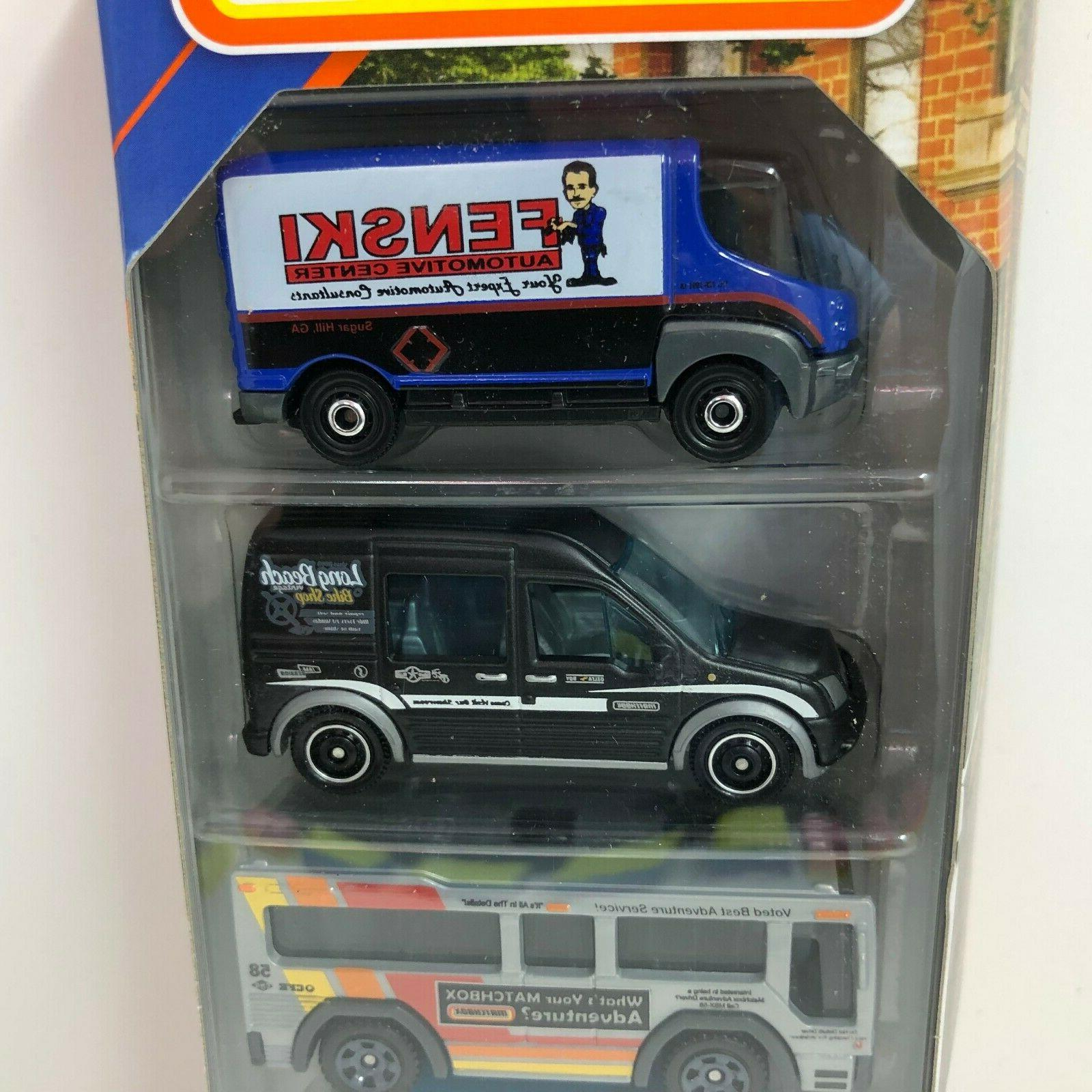 NEW!! Service Crew w/ Blue VW * 5 Matchbox Q