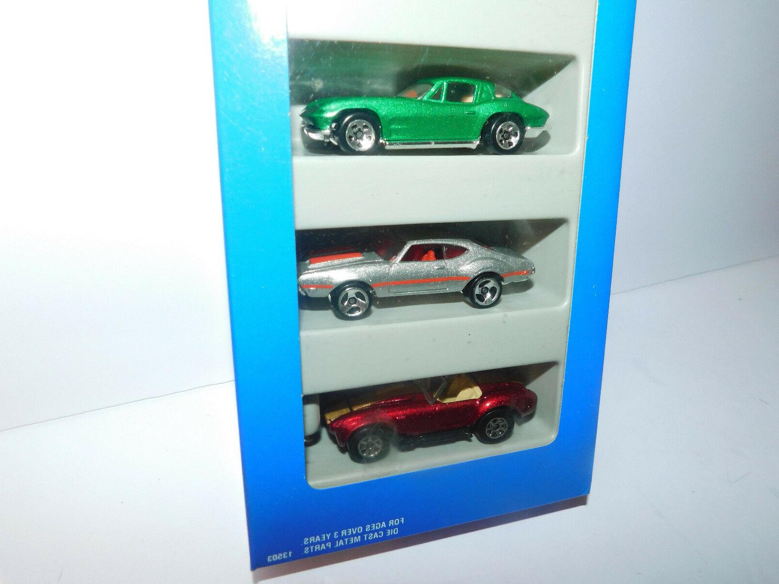 NIB 5 PACK FEATURING 60'S CARS