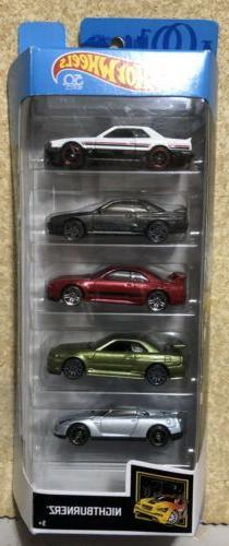 Hot Wheels NISSAN SKYLINE GT-R 5-Pack R30 R32 R33 R34 R35