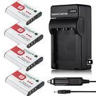 NP-BG1 NP-FG1 Battery +Charger for Sony Cyber-shot DSC-W220