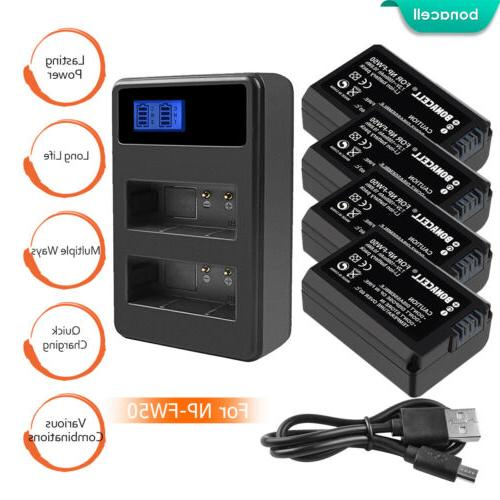 np fw50 battery or charger for sony
