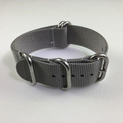 Army Military Nylon Ring Watch Steel Buckle
