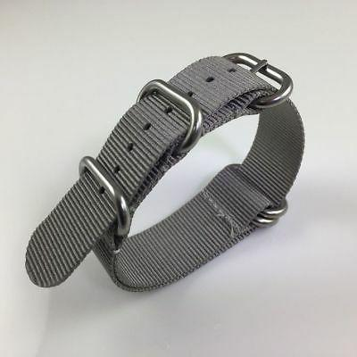 PACK OF 3 Army Military Ring Watch Band Steel Buckle