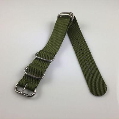 PACK Army Military 5 Ring Strap Steel Buckle