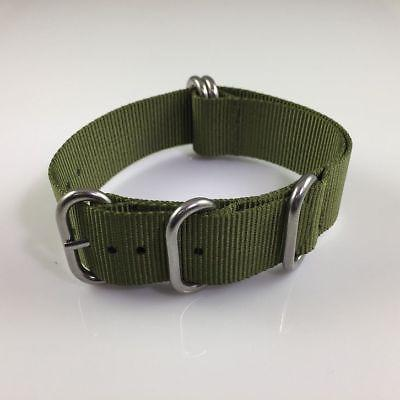 PACK Army 5 Ring Band Steel Buckle