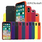 Pack of 5 PCS Luxury Original Silicone TPU Case For Apple iP