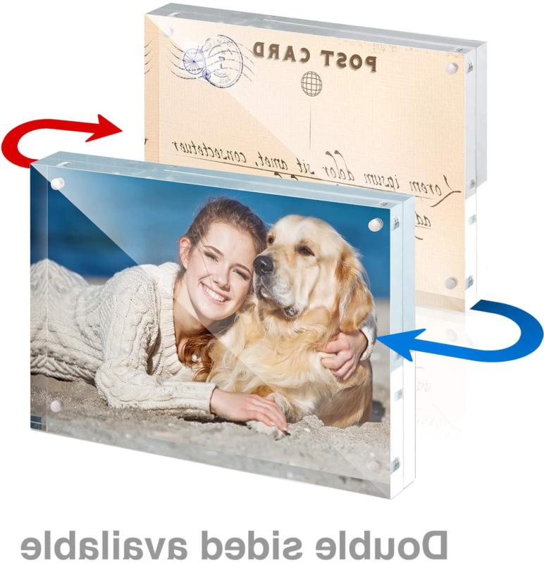 Twing Premium Acrylic Frame Photo Frame 5X7 5 Pack
