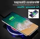 Qi Wireless Charger for Samsung Galaxy S8 S9 Plus Note 9 iPh