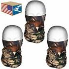 3 LOT QUICK DRY FACE MASK Real Tree Camo Camouflage HUNTING