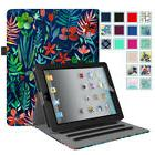 Smart Folio Case Stand Cover with Pocket For Apple iPad 2,iP