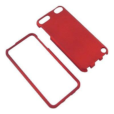 CoverON For Hard Rubberized Slim Cover iPod / Generation Red