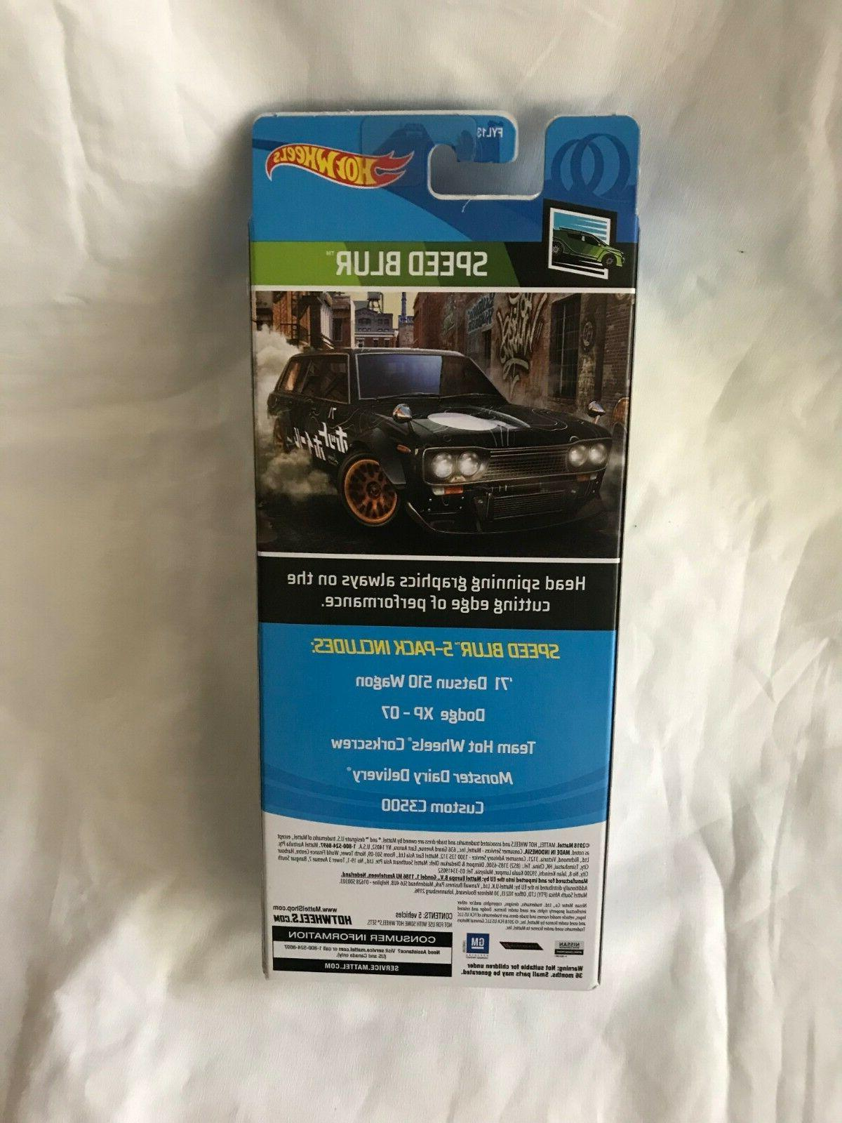 Hot Wheels 5 Pack 510 Wagon