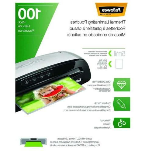 Fellowes Thermal Laminating 100 5