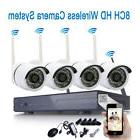 Wireless 8CH CCTV H.264 NVR 720P Outdoor WIFI IR-CUT Camera