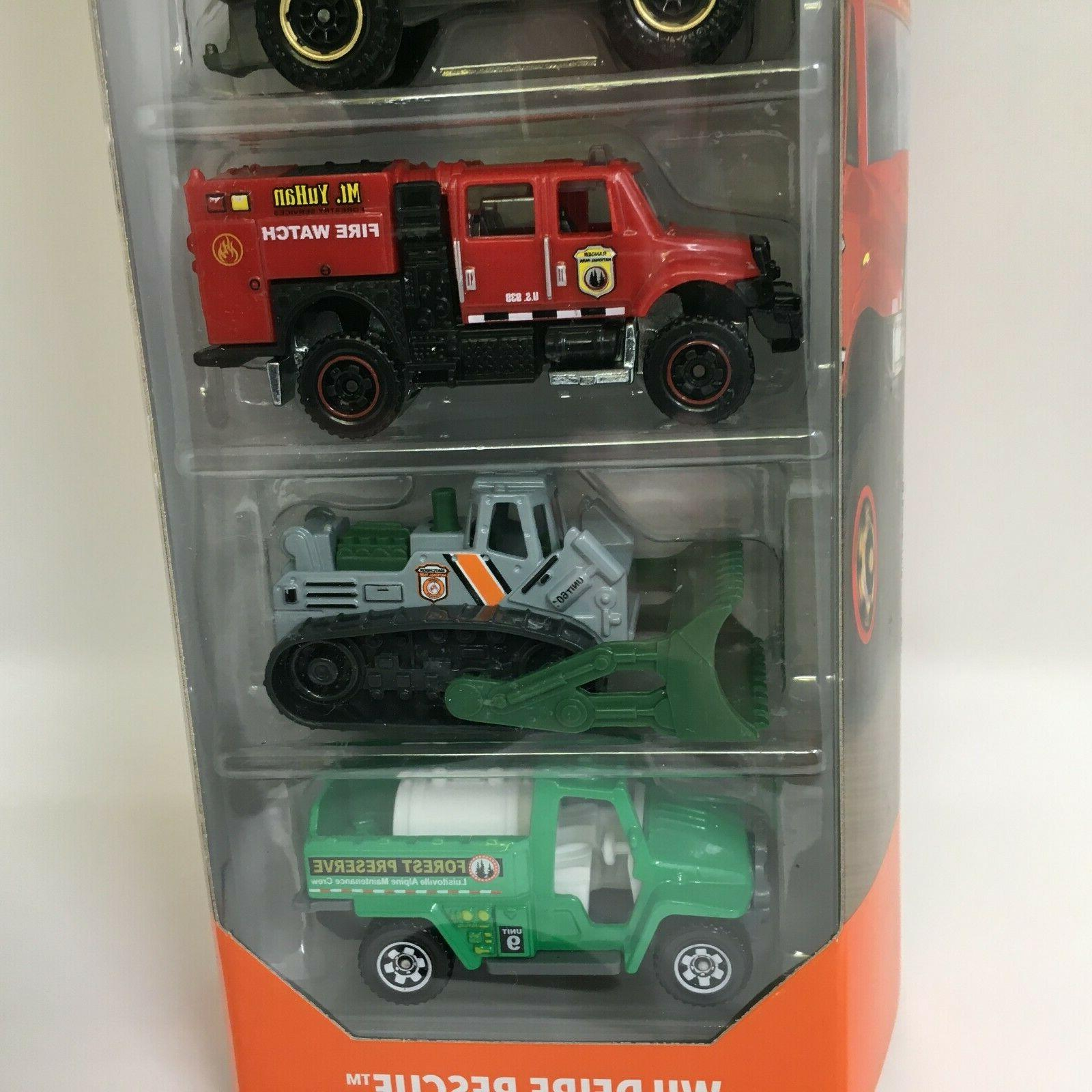 Wildfire Rescue 5 Pack *