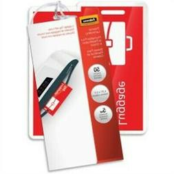 Fellowes Laminating Pouches, Thermal, Luggage Tag with Loop