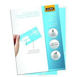 Fellowes Laminating Sheets, Self Adhesive, Luggage Tag Size,