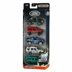 Matchbox Land Rover 5 Pack SBX, Discovery, Defender, Freelan
