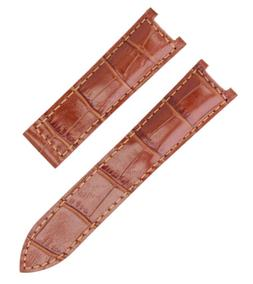 LEATHER WATCH STRAP BAND DEPLOYMENT CLASP FOR 35MM CARTIER P