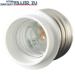 Light Bulb Socket Adapter Mogul Base E39 to Medium E26 Scre
